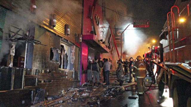 Anger, grief following fatal club fire