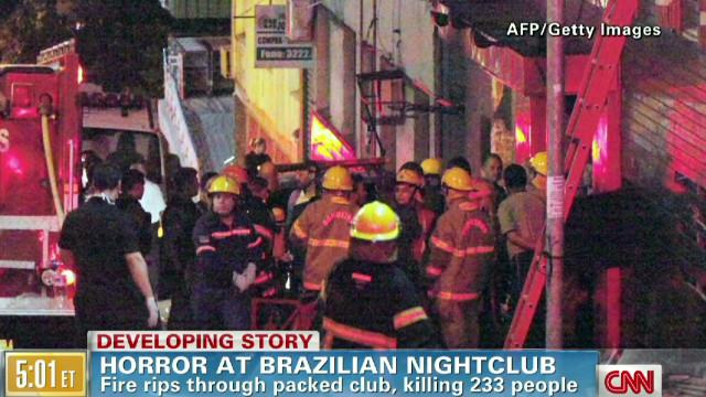 Deadly horror at Brazilian club