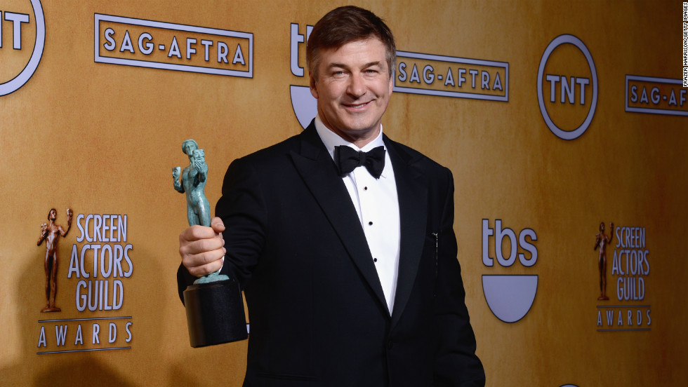 "Alec Baldwin: Outstanding performance by a male actor in a comedy series for ""30 Rock."""