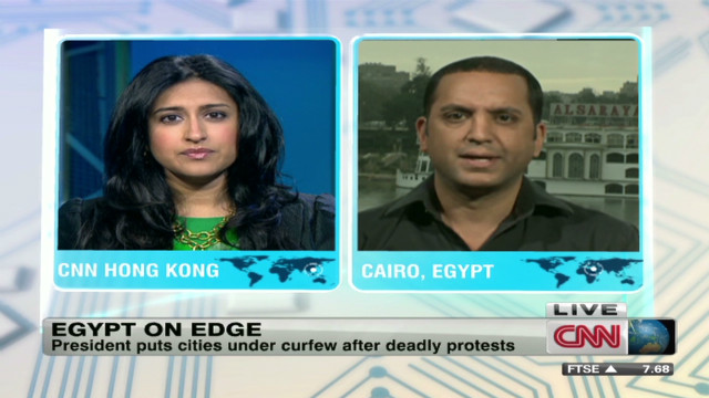 Egypt on edge: Cities under curfew