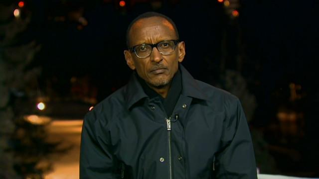 Rwanda's president discusses DR Congo