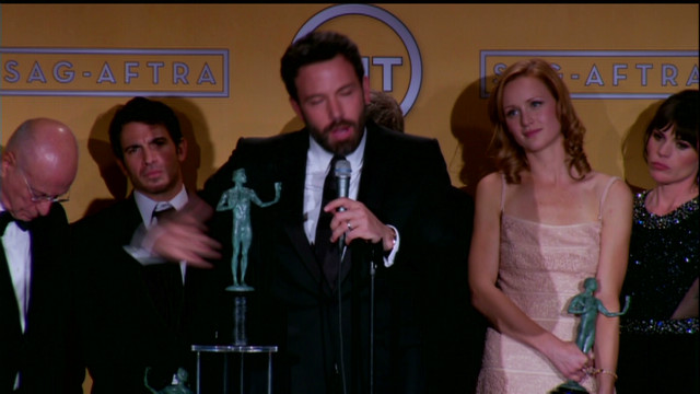 raw video sag awards ben affleck argo_00051012.jpg