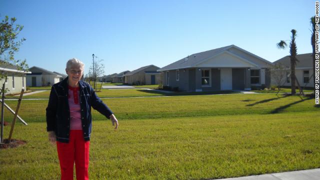 Sister Cathy Buster raised $10 million to build the Casa San Juan Bosco development in Arcadia, Florida.