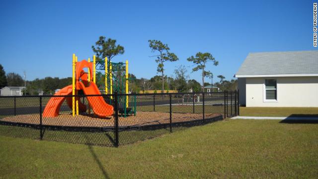 The playground at Casa San Juan Bosco.