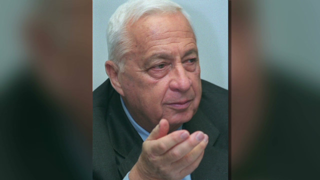 Brain activity detected in Ariel Sharon