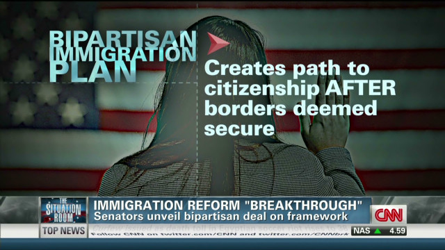 Senators: Common ground on immigration