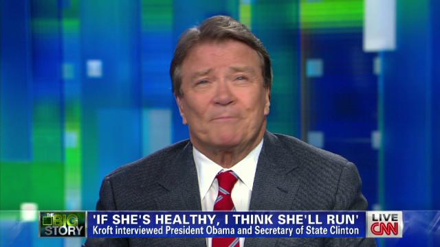 Kroft: Clinton run depends on health