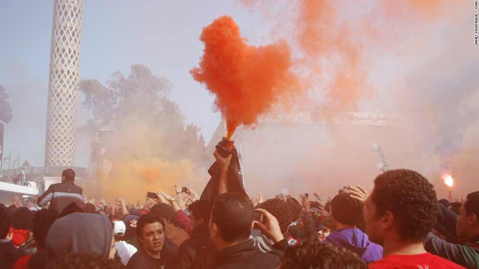 The news of the death sentences sparked wild celebrations among the supporters.