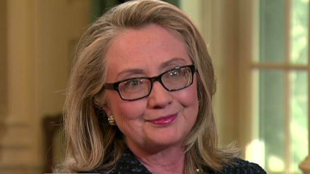 Clinton discusses blood clot, health