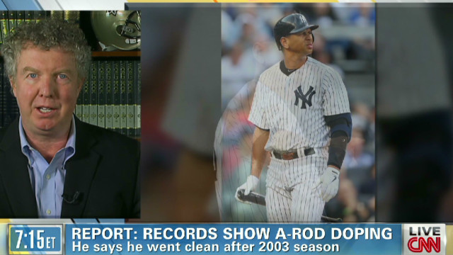 Report: Records show A-Rod doping
