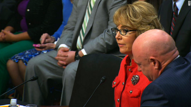 Gabrielle Giffords: We must do something