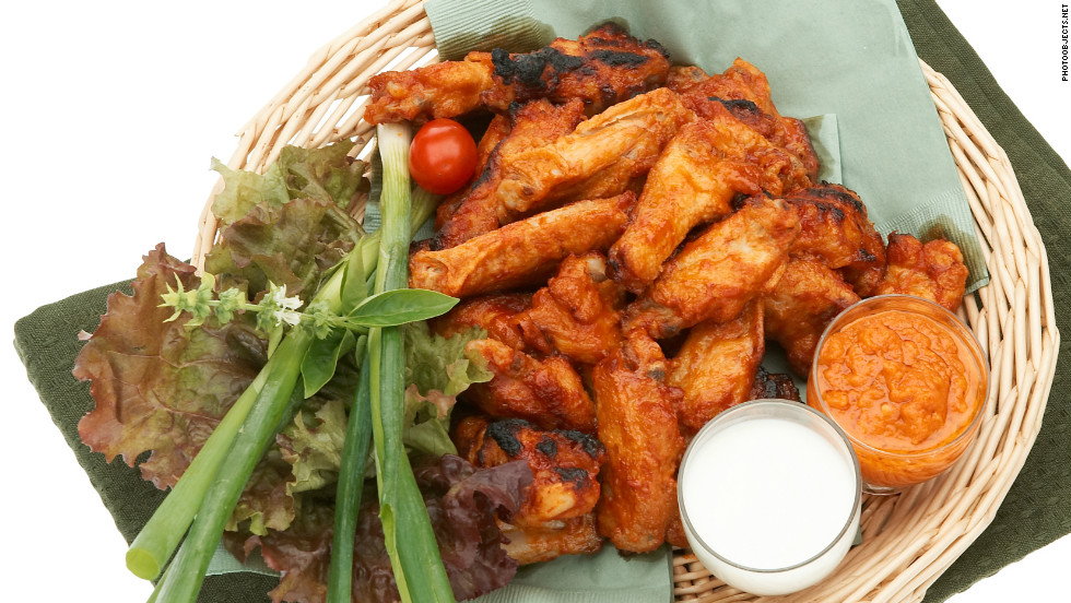 All hail the mighty chicken wing! Frank Bellissimo, founder of the Anchor Bar in Buffalo, New York, is credited with the invention of the popular Buffalo-style wing in 1964. Americans have been flocking to them ever since.