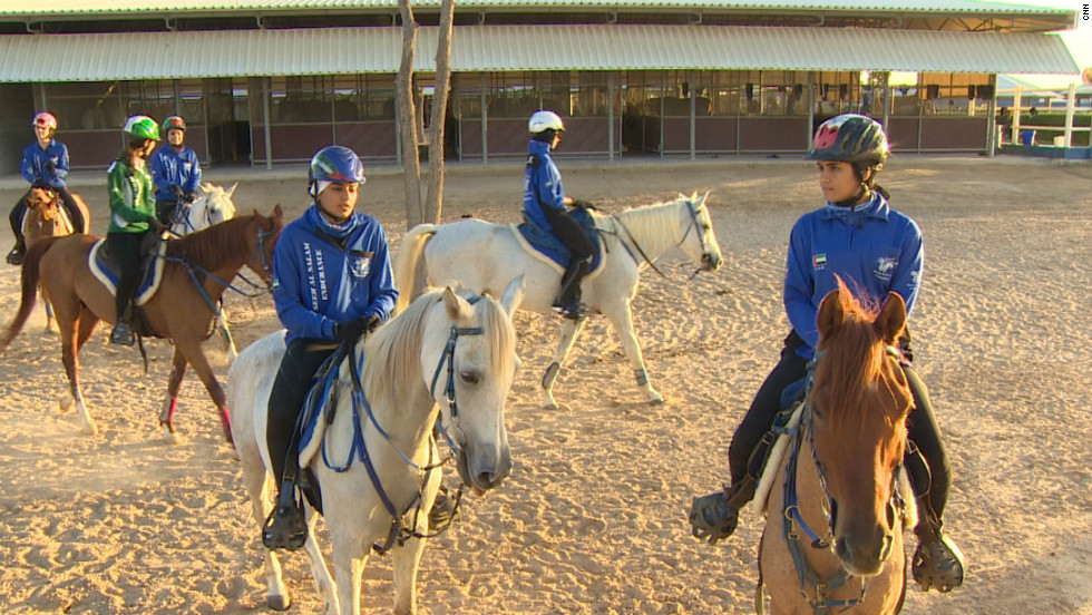 Fatima Al-Marri and Mariam Mothana are among the top female endurance riders in the United Arab Emirates.
