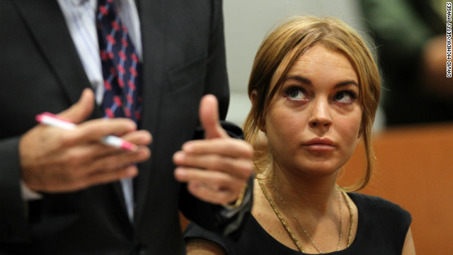 Lindsay Lohan appeared in court Wednesday for a pre-trial hearing before Judge Stephanie Sautner.