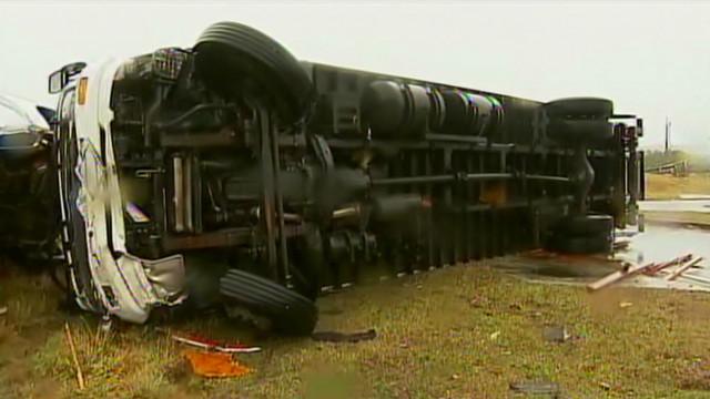 Truck driver: Tornado a 'giant creature'