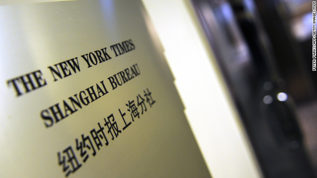 Reports: Chinese hacked U.S. newspapers