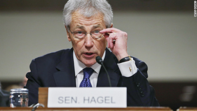 Hagel, Senators clash at hearing