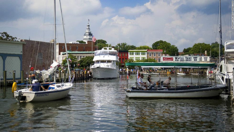Annapolis was named for Princess Anne, who as queen of Great Britain and Ireland, chartered her namesake to make it a city in Colonial America in 1708.