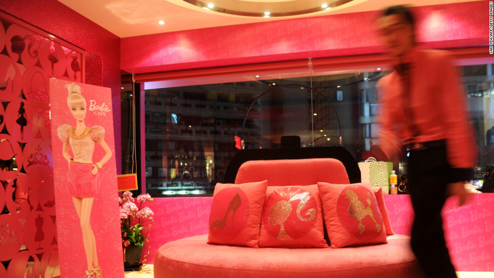 tutus, tiaras and tiramisu: world's first barbie restaurant opens
