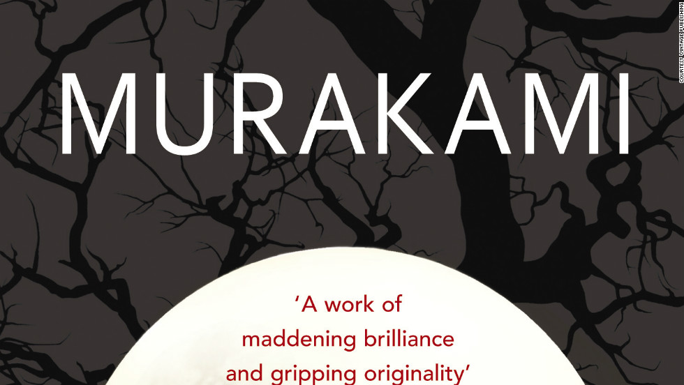 """Cover of """"1Q84"""" by Haruki Murakami. His character Masami Aomame is a lonely female assassin who finally finds love in a fictionalized 1980s Tokyo."""