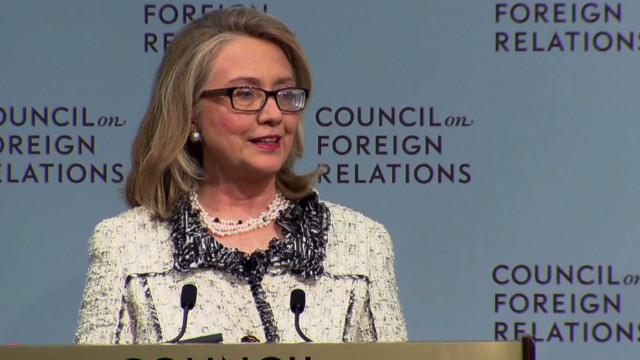 Clinton's bittersweet farewell