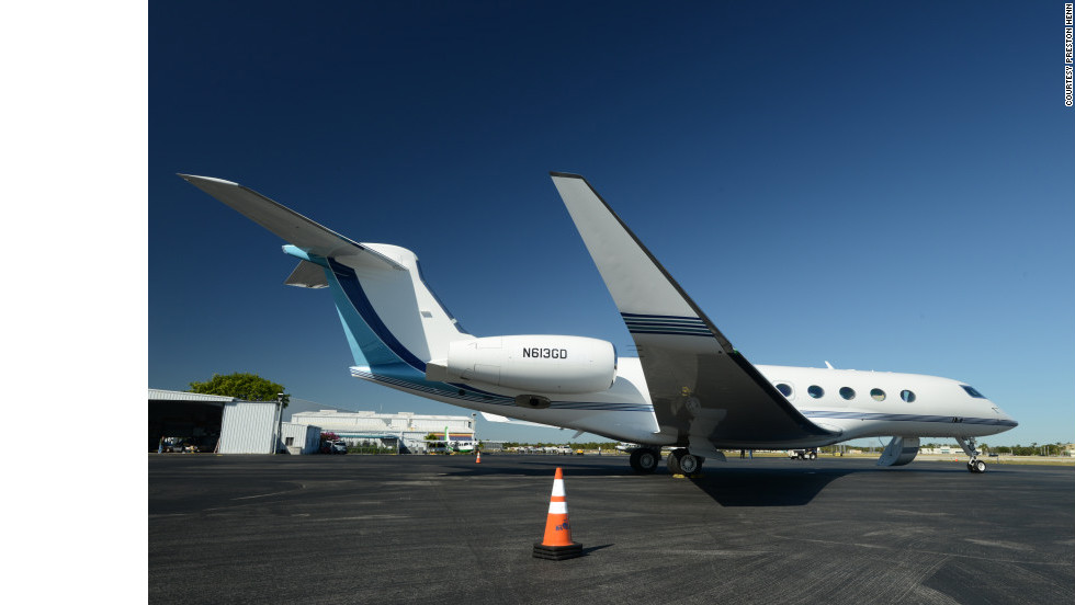 "Oprah, media mogul David Geffen and designer Ralph Lauren reportedly have expressed interest in the<a href=""http://www.gulfstream.com/products/g650/"" target=""_blank""> Gulfstream G650</a>. Its amenities include extra tall windows and a night-vision pilot display for safer landings. Seating: up to 18. Range: about 8,000 statute miles. Top speed: about 704 mph."