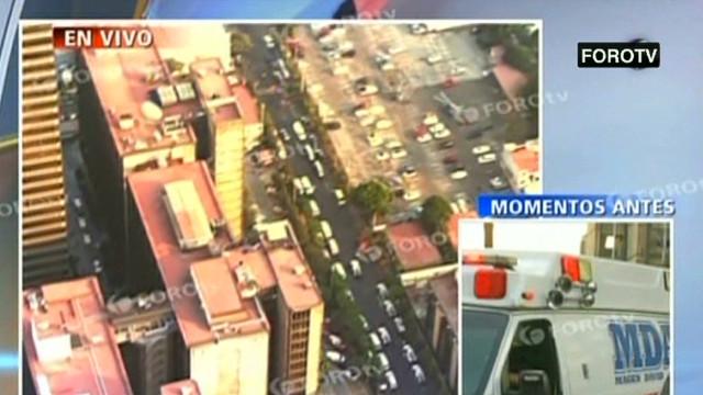Blast rocks Pemex tower in Mexico City