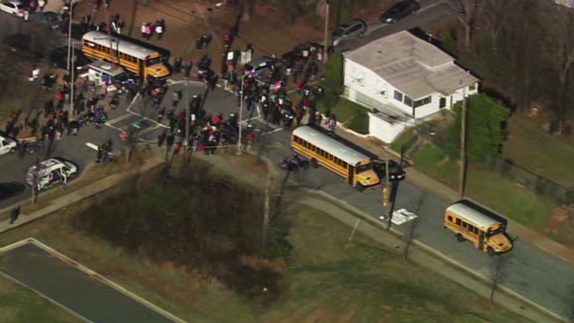 14-year-old shot at Atlanta school