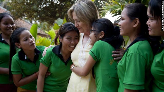 Hillary: Secretary of empowerment