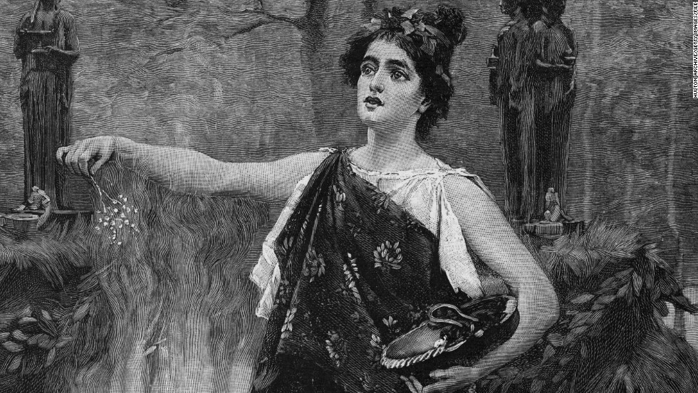 """A drawing of Lady Macbeth in """"Macbeth"""" by William Shakespeare."""