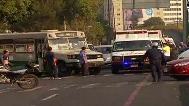 Dozens killed in Mexico office blast