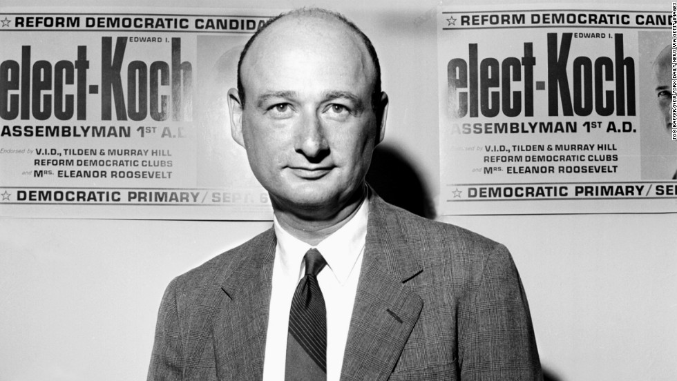 Koch campaigned for a New York State Assembly seat in  August 1962.