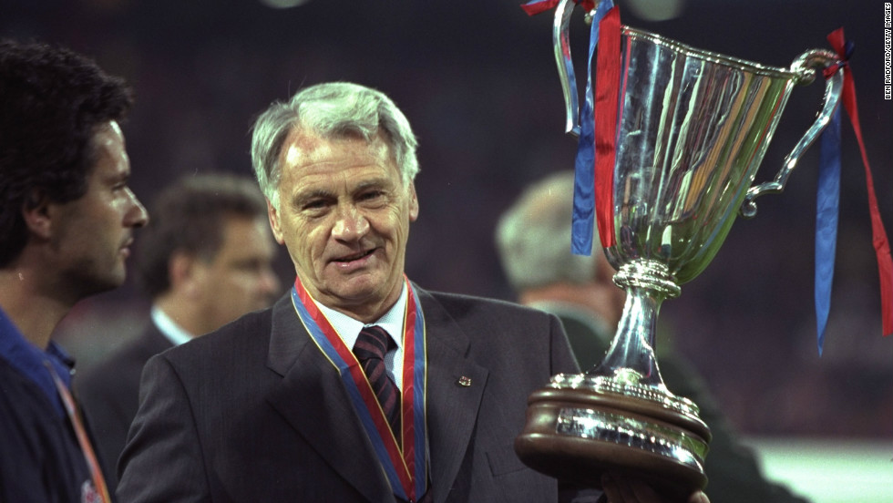 The late Bobby Robson was one of the few Englishmen to sample success abroad, winning trophies with PSV Eindhoven, Porto and finally Barcelona, where a young Jose Mourinho acted as his translator.