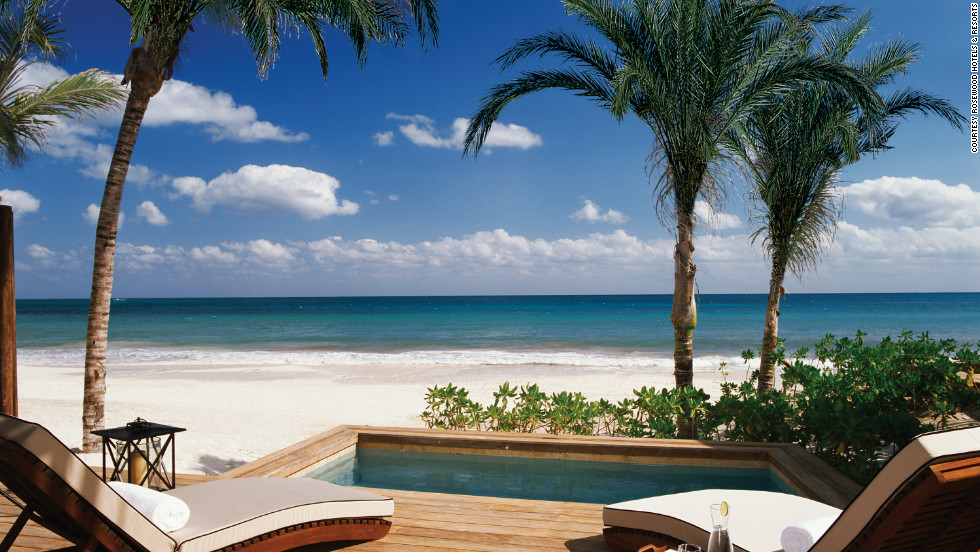 """Mayakoba (which means """"village of water"""") is often called the Venice of the Caribbean. It's perfect for honeymooners or a group of girlfriends willing to spend on a decadent spa getaway or other exclusive resort vacation."""