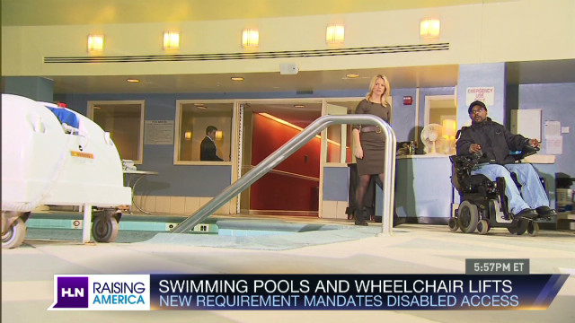 Pool Lift for Disabled