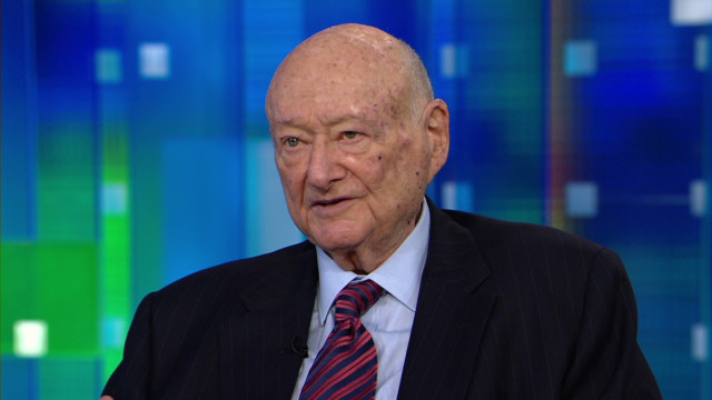 Mayor Ed Koch:  I created the foundation