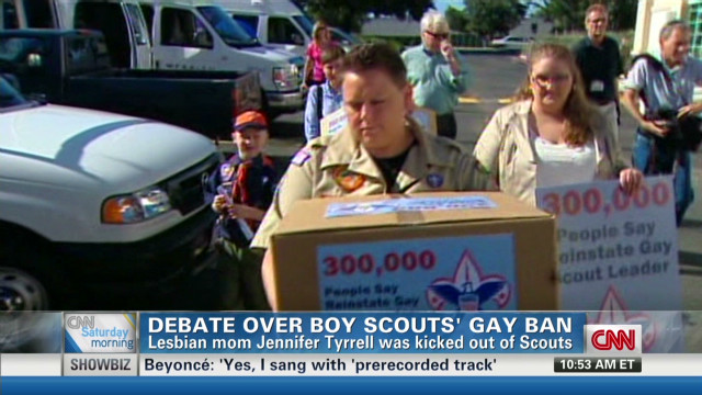 Dad: Scouts shouldn't lift ban on gays