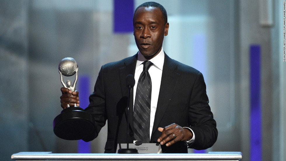 """Don Cheadle won Actor in a Comedy Series for """"House of Lies."""""""