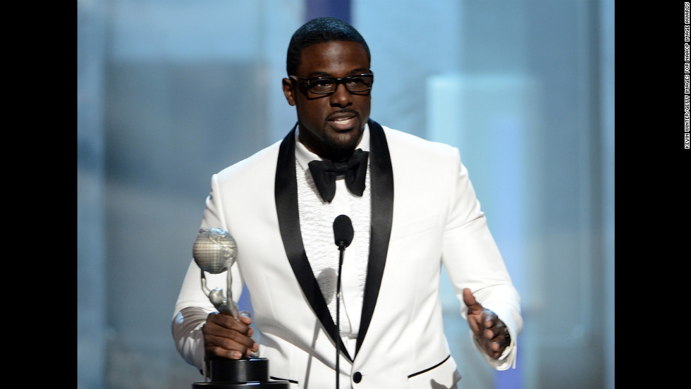 "Lance Gross won Supporting Actor in a Comedy Series for ""Tyler Perry's House of Payne."" Vanessa Williams (not pictured) won Supporting Actress in a Comedy Series for ""Desperate Housewives."""