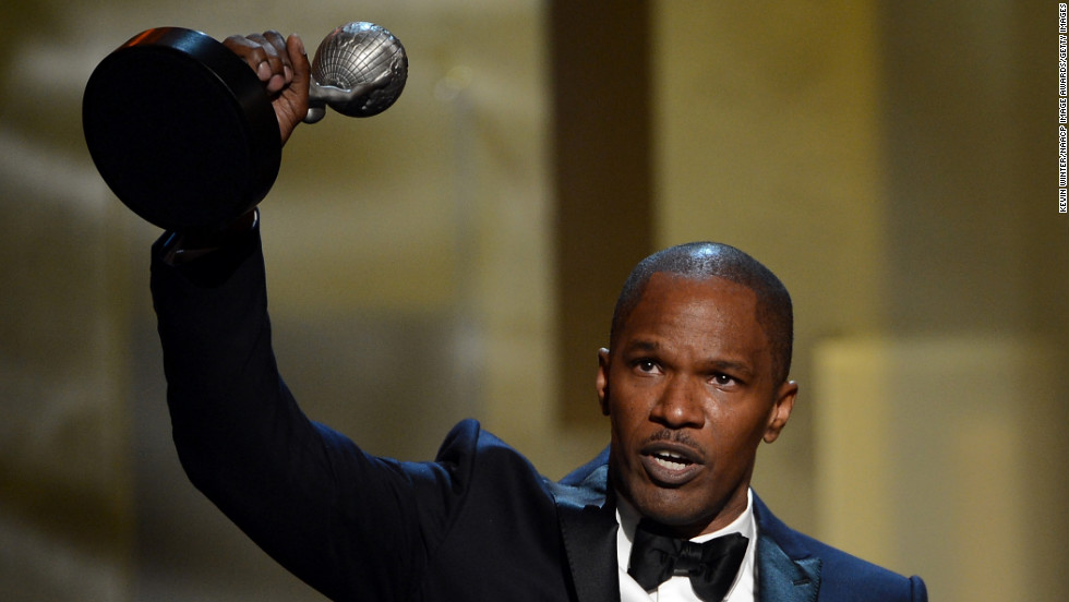 Jamie Foxx was named Entertainer of the Year.