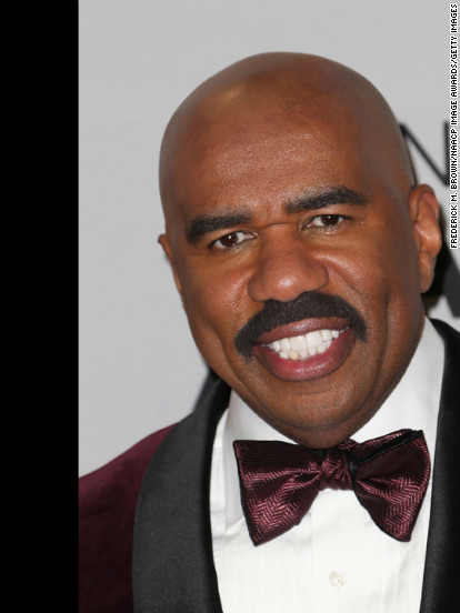 LOS ANGELES, CA - FEBRUARY 01:  Host Steve Harvey poses in the press room during the 44th NAACP Image Awards at The Shrine Auditorium on February 1, 2013 in Los Angeles, California.  (Photo by Frederick M. Brown/Getty Images for NAACP Image Awards)