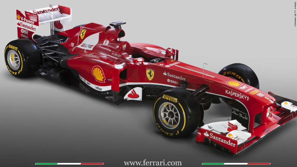 Title rivals Ferrari launched the new F138 which they hope will power Fernando Alonso to glory in 2013.