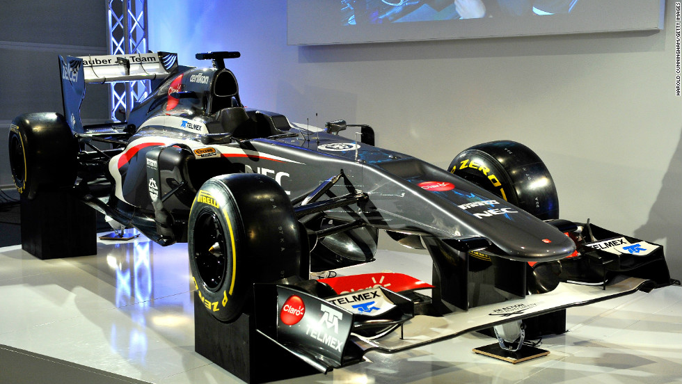 Sauber's new C32 was launched in Switzerland on February 2. It will be driven by Perez's replacement Esteban Gutierrez and Nico Hulkenberg, who left Force India in 2012.