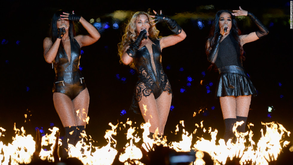 Destiny's Child had a mini-reunion during the show.