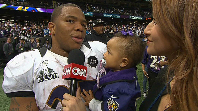 Ravens react to Super Bowl win