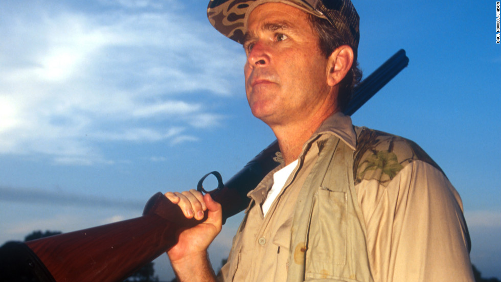 Photos: Arming the commander in chief George W Bush Hunting