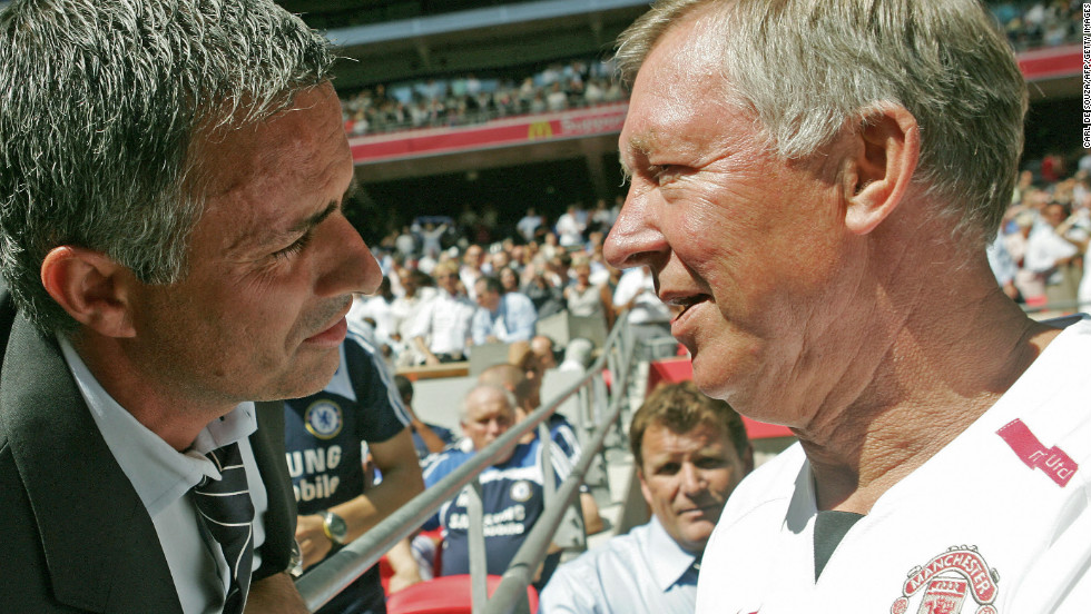 Cristiano Ronaldo says comparing Ferguson with Mourinho is like comparing a Ferrari to a Porsche. Two top class managers...