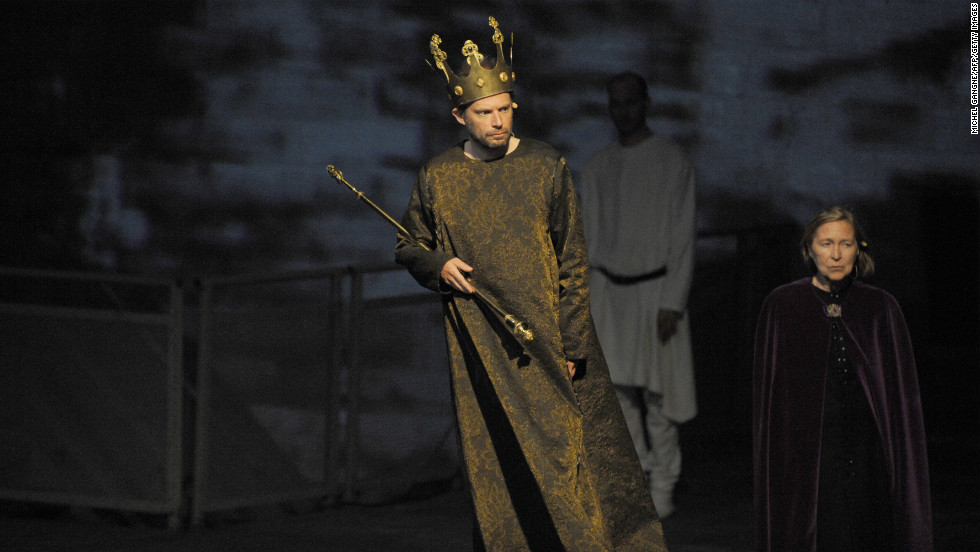 "French actor Denis Podalydes as Richard III in ""The Life and Death of Richard the Third,"" 2010."