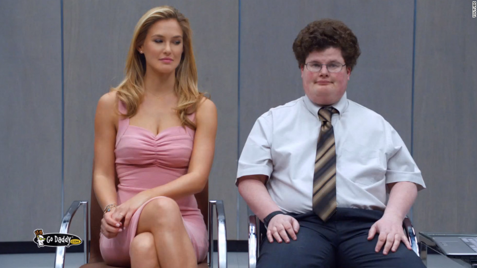 "Jesse Heiman became a famous face overnight after the controversial <a href=""http://startingpoint.blogs.cnn.com/2013/02/04/video-godaddy-actor-on-kissing-bar-rafaeli-in-super-bowl-ad-it-worked/"">GoDaddy.com</a> ad, where he played a nerd who locked lips with model Bar Rafaeli."