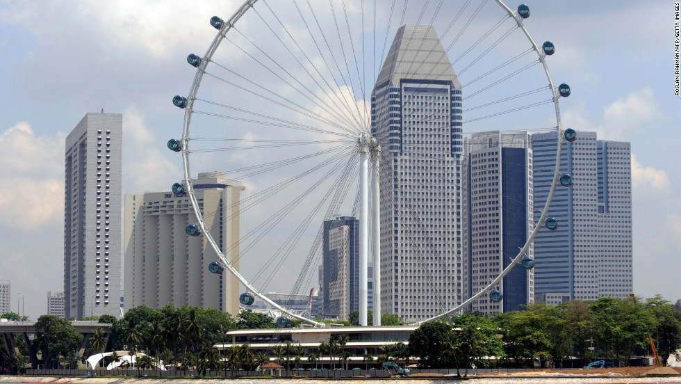 Officials in Singapore reportedly changed the direction of the world's biggest observation wheel because feng shui masters said it was taking good fortune away from the city.
